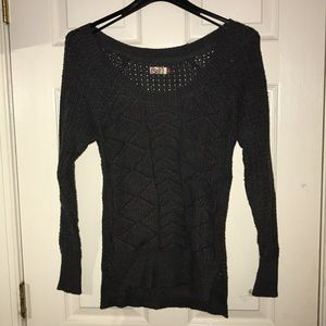 Dark grey sweater!